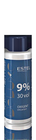 ESTEL PROFESSIONAL Оксигент 9% / DE LUXE 60млОкислители<br>Специально разработанный стабилизированный оксигент в виде эмульсии молочного цвета. Позволяет доcтичь наилучших результатов с крем-красками ESTEL DE LUXE. Способ применения: добавить к крем-краске ESTEL DE LUXE нужное количество оксигента, перемешать, нанести на волосы.<br><br>Содержание кислоты: 9%