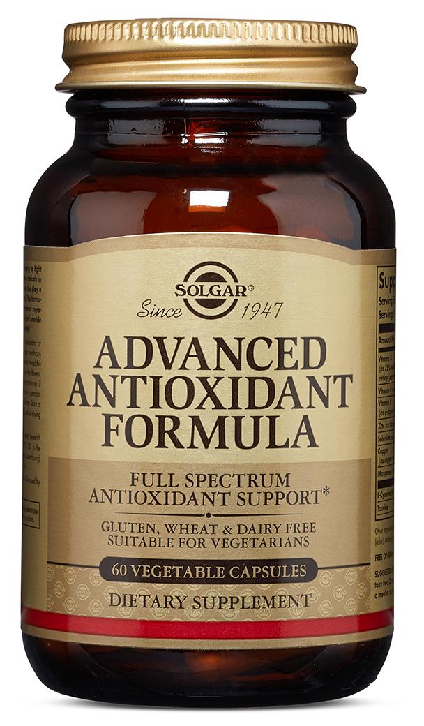 SOLGAR Антиоксидантная формула, капсулы 870 мг № 60