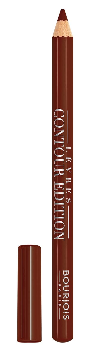 BOURJOIS Карандаш контурный для губ 12 / Levres Contour Edition chocolate chip bourjois levres contour edition карандаш контурный для губ 05 berry much