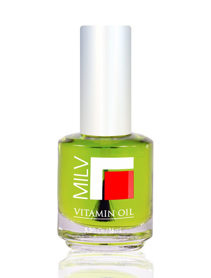 MILV Масло витаминное  Чайное дерево  / Vitamin Oil 16млОсобые средства<br>Витаминное масло  Чайное дерево .&amp;nbsp; Продукт специально разработан для сухих, ломких ногтей и поврежденной кутикулы. Масло, которое смягчает, увлажняет, питает, восстанавливает и защищает ногти и кутикулу. Содержит витамины А и Е.&amp;nbsp; Способ применения: нанести капельку масла на зону кутикулы. Массажными движениями втереть в ноготь и область кутикулы. Не смывать!<br>