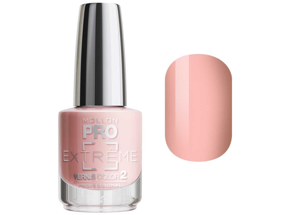 MOLLON PRO Покрытие для ногтей цветное / Extreme Vernis Color  04 10млЛаки<br>Mollon PRO EXTREME 3 STEPS VERNIS   это инновационная, трехфазная система для стилизации ногтей. Благодаря формуле, обогащенной полимерами, продукты высыхают при естественном освещении, что позволяет сохранить эффект супер блеска на ногтях до 10 дней. Продукты наносятся как классический лак для ногтей, смываются жидкостью для снятия лака с ацетоном без компресса. EXTREME VERNIS COLOR COAT 2 - основной цвет очень гибкий, быстро сохнет и дает интенсивный цвет уже после первого цветного слоя. Способ нанесения: - Сделайте маникюр и обезжирьте ногтевую пластину. - Нанесите базу Mollon PRO Extreme Base Smooth Coat -1, дайте просохнуть 1 минуту. - Нанесите два слоя цветного лака Mollon PRO Extreme -2, интервал между слоями 2 минуты. - Покройте сверху закрепителем Mollon PRO Extreme Gloss Top Coat -3. - Оставьте на 10 минут для высыхания. Для снятия покрытия используйте жидкость для снятия лака.<br><br>Цвет: Розовые<br>Класс косметики: Профессиональная<br>Виды лака: Глянцевые