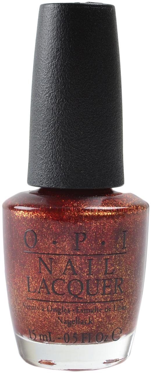 OPI Лак для ногтей Red Fingers &amp; Mistletoe / HOLIDAY 15млЛаки<br>Red Fingers &amp; Mistletoes - красный с золотистым шиммером<br><br>Цвет: Красные<br>Виды лака: С блестками