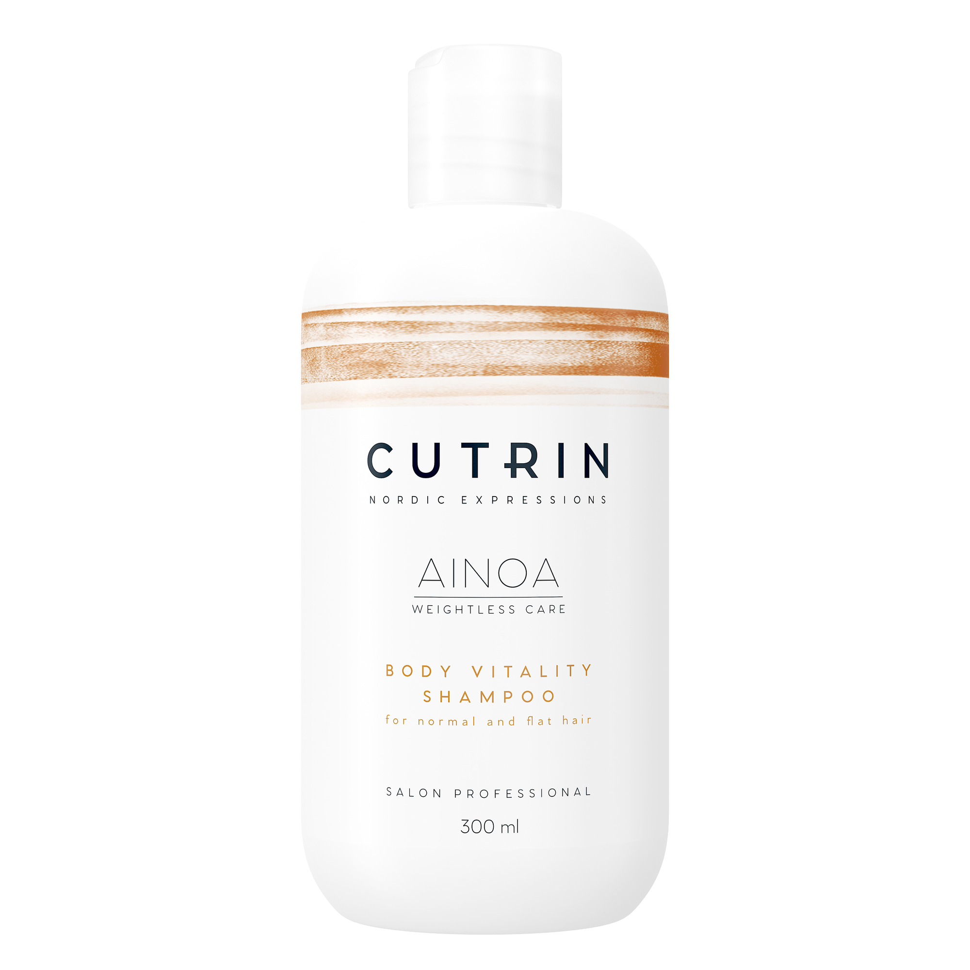 CUTRIN Шампунь для укрепления волос / AINOA BODY VITALITY 300 мл.