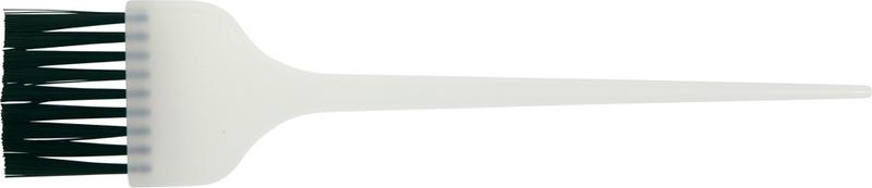 DEWAL PROFESSIONAL Кисть для окрашивания широкая белая, с черной прямой щетиной 45мм