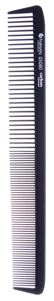 HAIRWAY Расческа Carbon Advance комбинированная 220мм