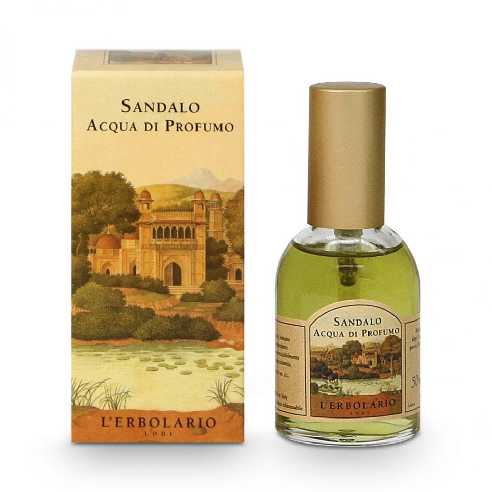 LERBOLARIO Вода парфюмированная Сандал 50 мл парфюмированная вода montale orange flowers 20 мл