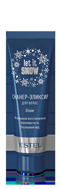 ESTEL PROFESSIONAL Сканер эликсир для волос / Let it Snow 50 млЭликсиры<br>Распознает и мгновенно восстанавливает сухие и поврежденные участки волос. Обеспечивает пролонгированную защиту волос при воздействии внешних факторов. Комплекс на основе аминокислот усиливает защитные свойства на 80% при горячей укладке феном или утюжком. Увеличивает плотность волос, при этом оставляя их подвижными и эластичными, без эффекта утяжеления. Экстракт рябины насыщает волосы витаминами и микроэлементами, которые придают волосам гладкость и блеск.<br>