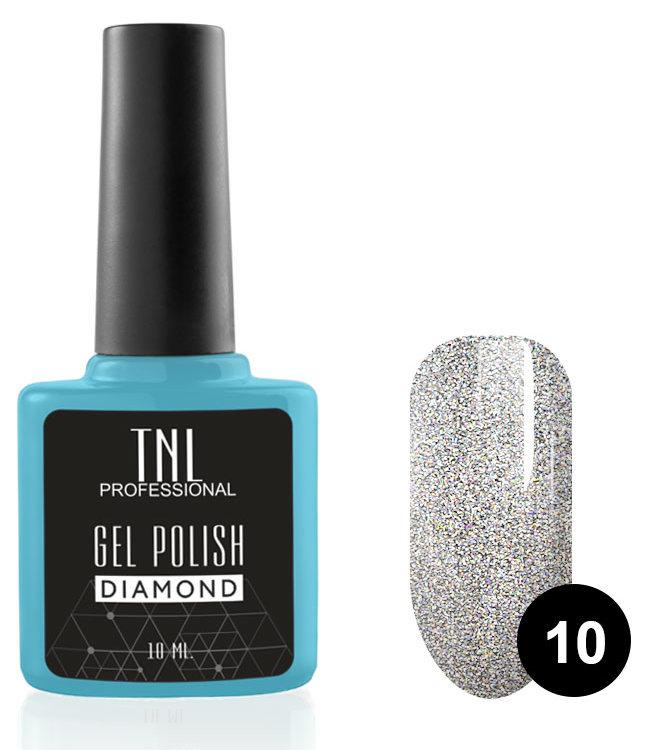 Купить TNL PROFESSIONAL 10 гель-лак для ногтей Морион / Diamond 10 мл