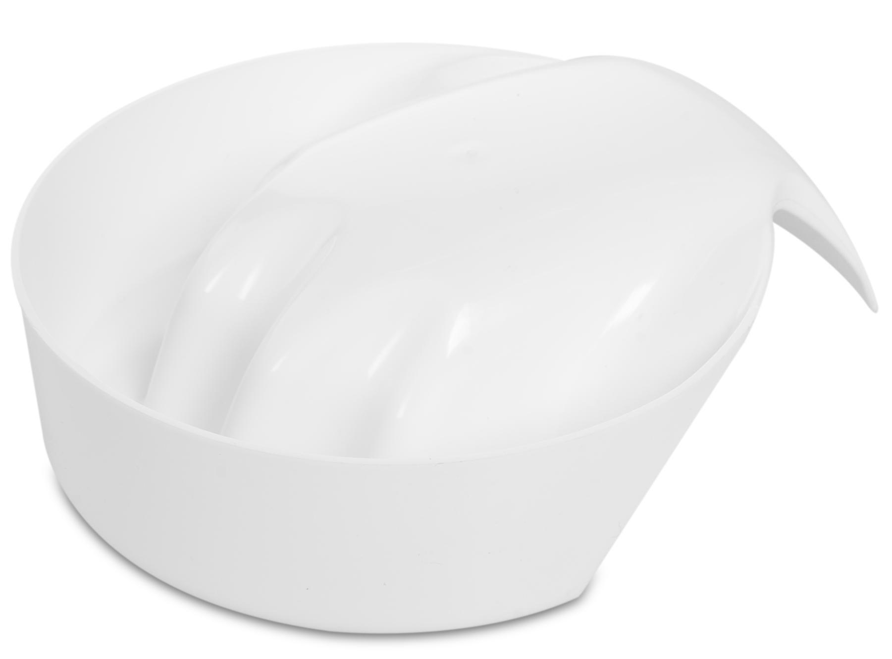 DOMIX Ванночка для маникюра mini, белая