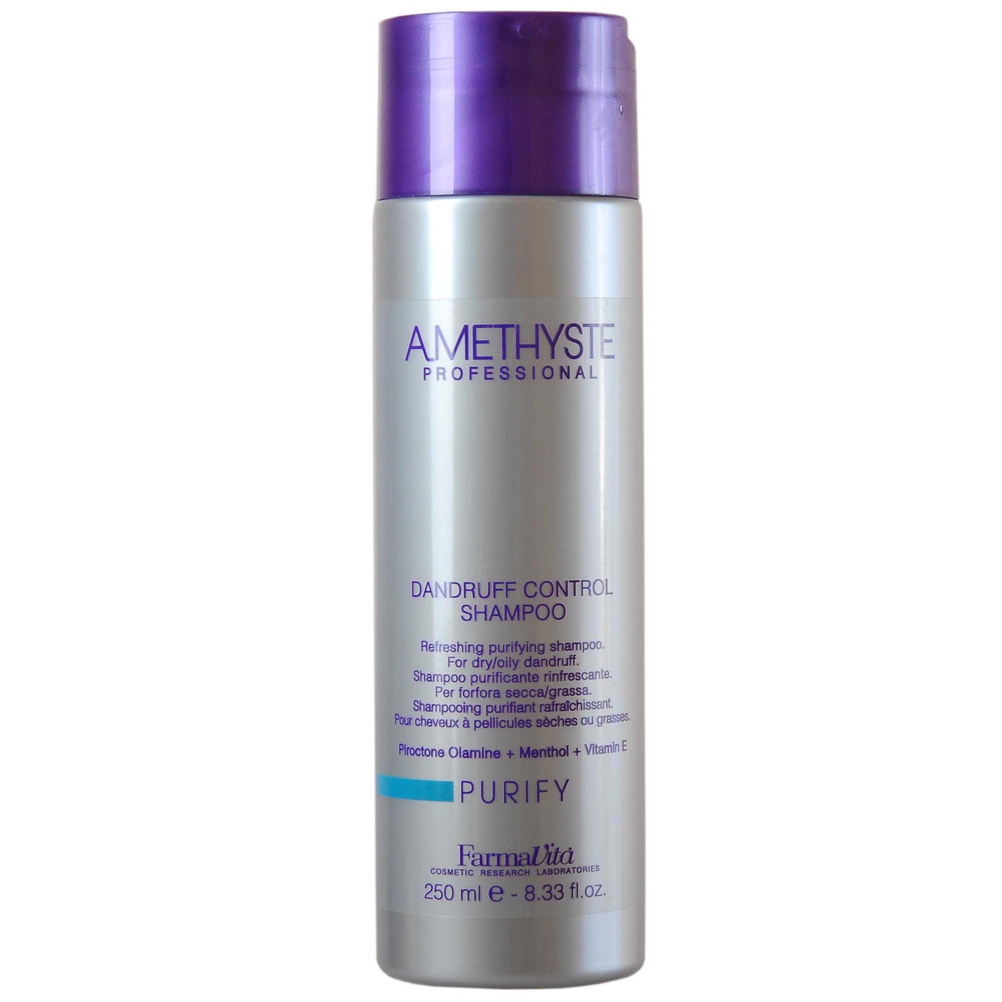 FARMAVITA Шампунь против перхоти / Amethyste purify dandruff controll shampoo 250мл недорого