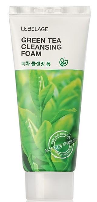 Купить LEBELAGE Пенка с экстрактом зеленого чая для умывания 100 мл