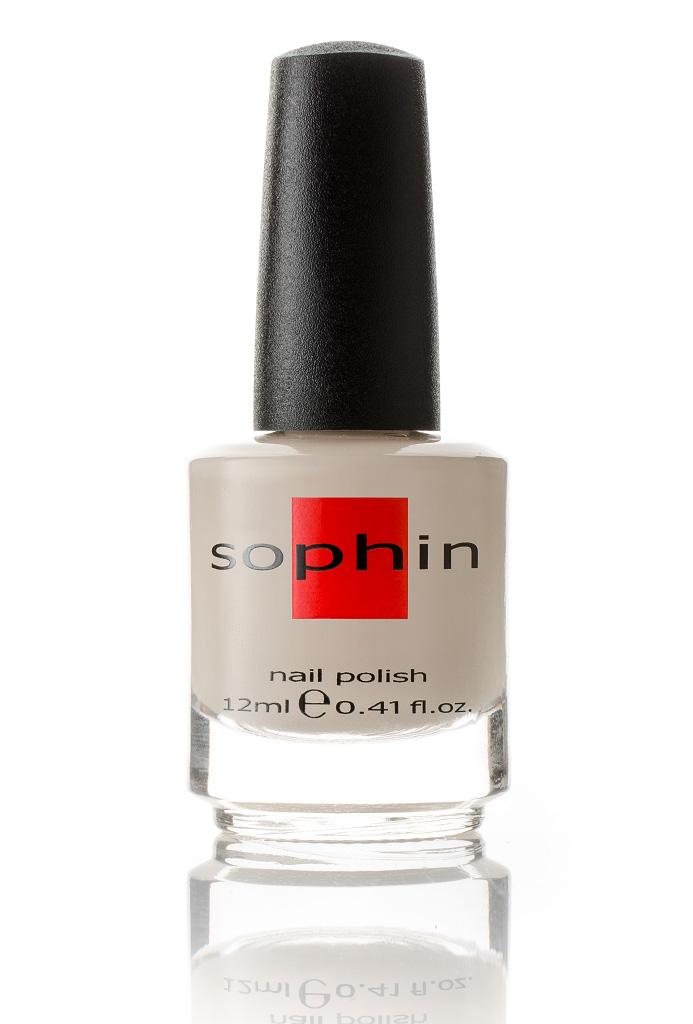 SOPHIN Лак для ногтей, цвет слоновой кости 12мл