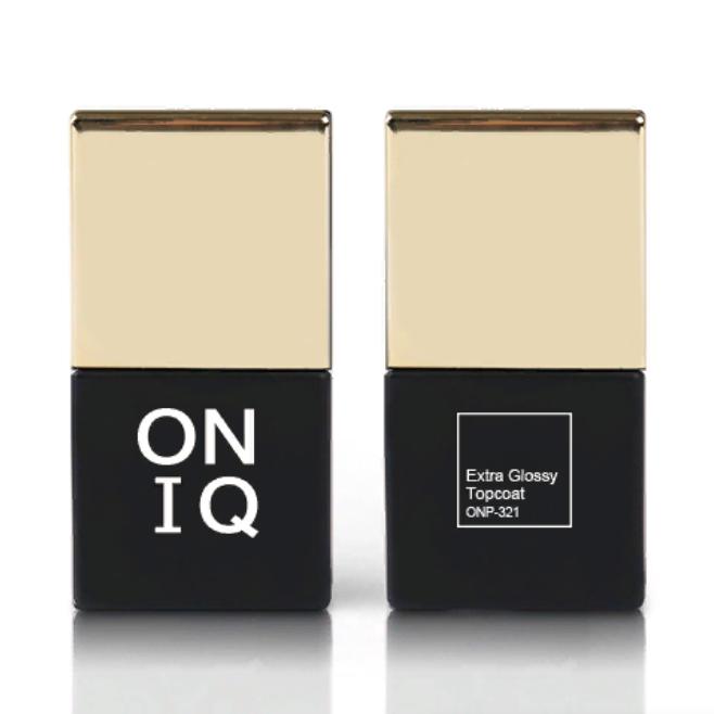 ONIQ Покрытие финишное экстраглянцевое 10 мл - Особые средства