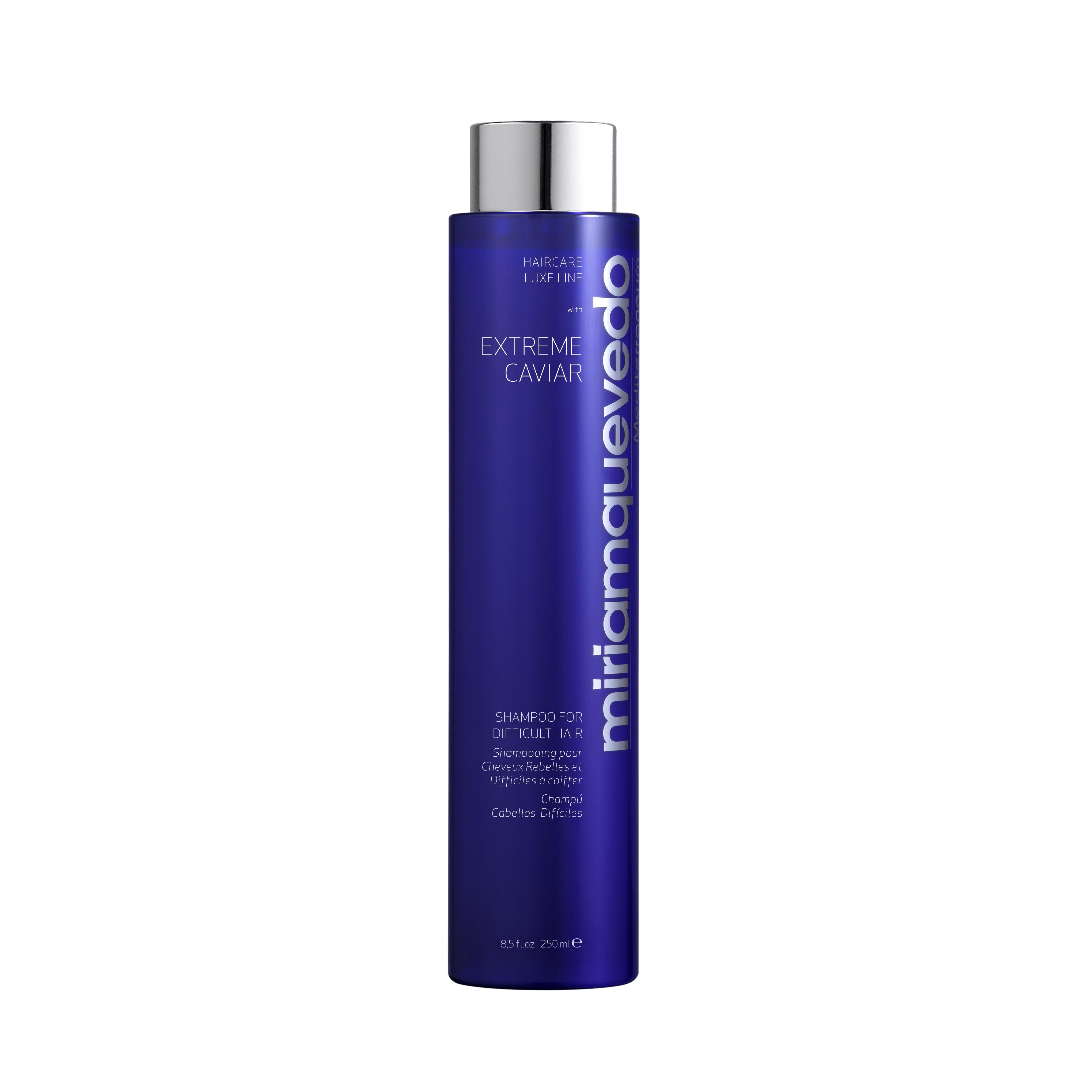 MIRIAM QUEVEDO Шампунь для непослушных волос с экстрактом черной икры / EXTREME CAVIAR ANTI-AGE 250мл