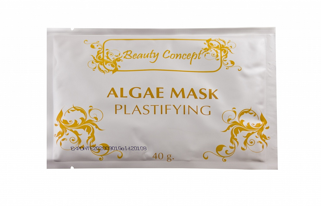 BEAUTY CONCEPT Альгинатная пластифицирующая маска с шоколадом 40грМаски<br>Активные вещества этой водорослевой маски в комплексе с экстрактом какао, обладают релаксирующим и питательным действием. Маску можно комбинировать со всеми концентратами на водной основе из ампул, а также с сыворотками. Латексообразная пленка, которую образует маска, способствует быстрому впитыванию водорастворимых активных веществ в кожу, обладает выраженным эффектом лифтинга.<br><br>Вид средства для лица: Альгинатная