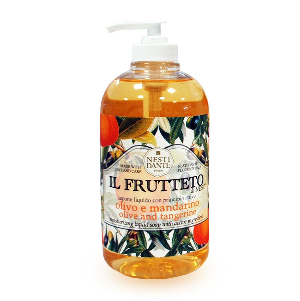 NESTI DANTE Мыло жидкое Оливковое масло и мандарин 500 мл