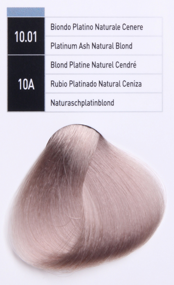 JUNGLE FEVER 10.01 ����-������ ��� ����� / Platinum Ash Natural Blond COLOR GUIDE 100��