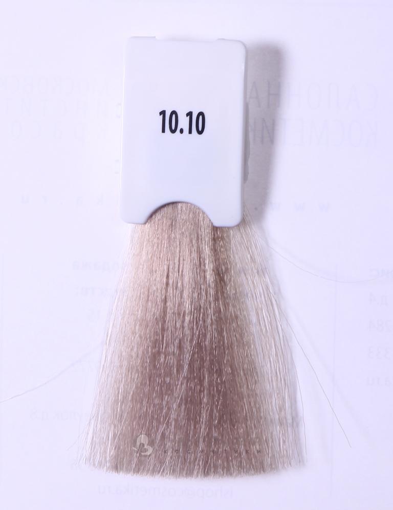 KAARAL 10.10 краска для волос / Sense COLOURS 100млКраски и корректоры<br>10.10 светлый платиновый блондин Перманентные красители. Классический перманентный краситель бизнес класса. Обладает высокой покрывающей способностью. Содержит алоэ вера, оказывающее мощное увлажняющее действие, кокосовое масло для дополнительной защиты волос и кожи головы от агрессивного воздействия химических агентов красителя и провитамин В5 для поддержания внутренней структуры волоса. При соблюдении правильной технологии окрашивания гарантировано 100% окрашивание седых волос. Палитра включает 93 классических оттенка. Способ применения: Приготовление: смешивается с окислителем OXI Plus 6, 10, 20, 30 или 40 Vol в пропорции 1:1 (60 г красителя + 60 г окислителя). Суперосветляющие оттенки смешиваются с окислителями OXI Plus 40 Vol в пропорции 1:2. Для тонирования волос краситель используется с окислителем OXI Plus 6Vol в различных пропорциях в зависимости от желаемого результата. Нанесение: провести тест на чувствительность. Для предотвращения окрашивания кожи при работе с темными оттенками перед нанесением красителя обработать краевую линию роста волос защитным кремом Вaco. ПЕРВИЧНОЕ ОКРАШИВАНИЕ Нанести краситель сначала по длине волос и на кончики, отступив 1-2 см от прикорневой части волос, затем нанести состав на прикорневую часть. ВТОРИЧНОЕ ОКРАШИВАНИЕ Нанести состав сначала на прикорневую часть волос. Затем для обновления цвета ранее окрашенных волос нанести безаммиачный краситель Easy Soft. Время выдержки: 35 минут. Корректоры Sense. Используются для коррекции цвета, усиления яркости оттенков, создания новых цветовых нюансов, а также для нейтрализации нежелательных оттенков по законам хроматического круга. Содержат аммиак и могут использоваться самостоятельно. Оттенки: T-AG - серебристо-серый, T-M - фиолетовый, T-B - синий, T-RO - красный, T-D - золотистый, 0.00 - нейтральный. Способ применения: для усиления или коррекции цвета волос от 2 до 6 уровней цвета корректоры добавляются в крас