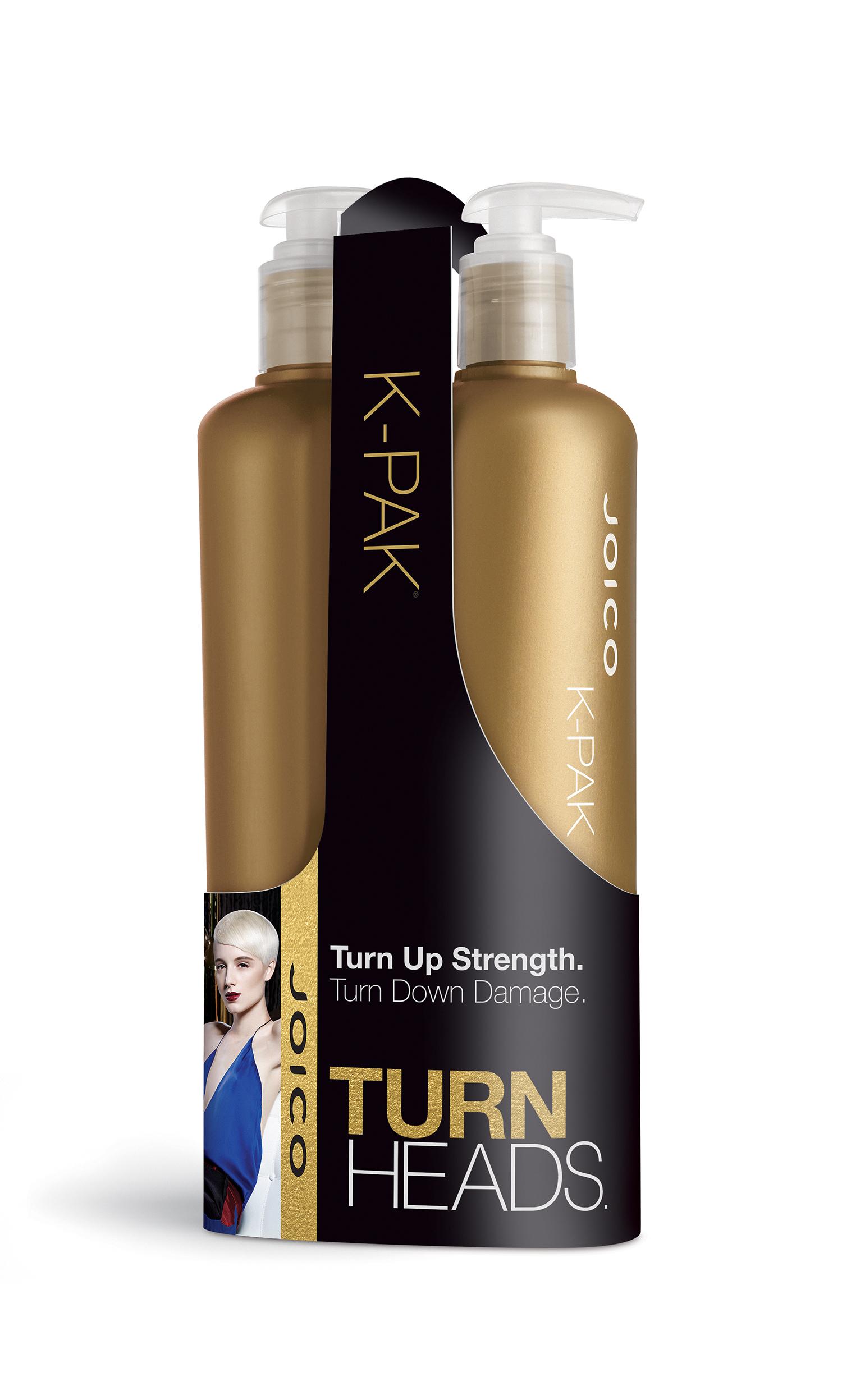 JOICO Набор подарочный восстанавливающий для поврежденных волос (шампунь 500 мл, кондиционер 500 мл) / JOICO, K-PAK