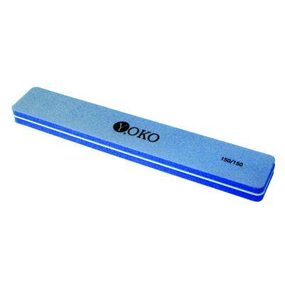 YOKO Пилка-блок голубая 150/150***