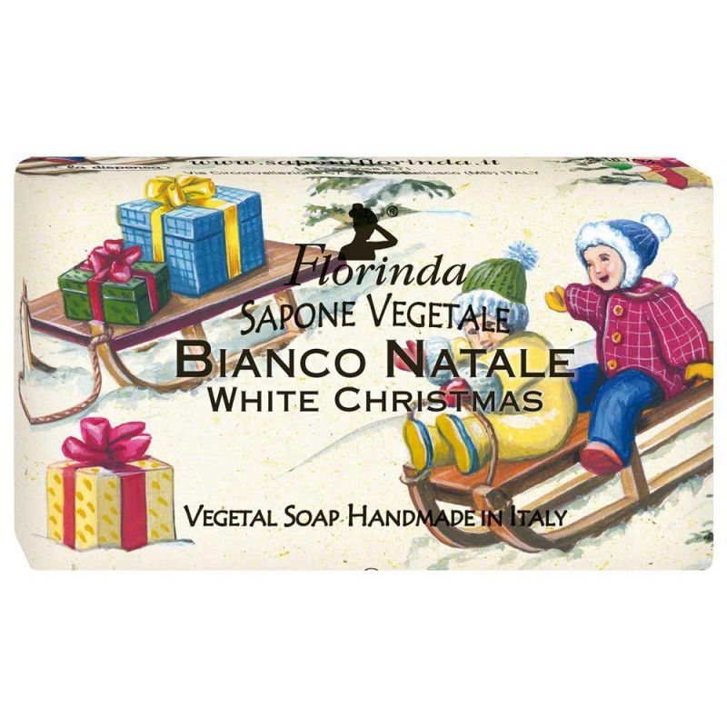 Купить FLORINDA Мыло растительное, рождественский снег / Bianco Natale 100 г