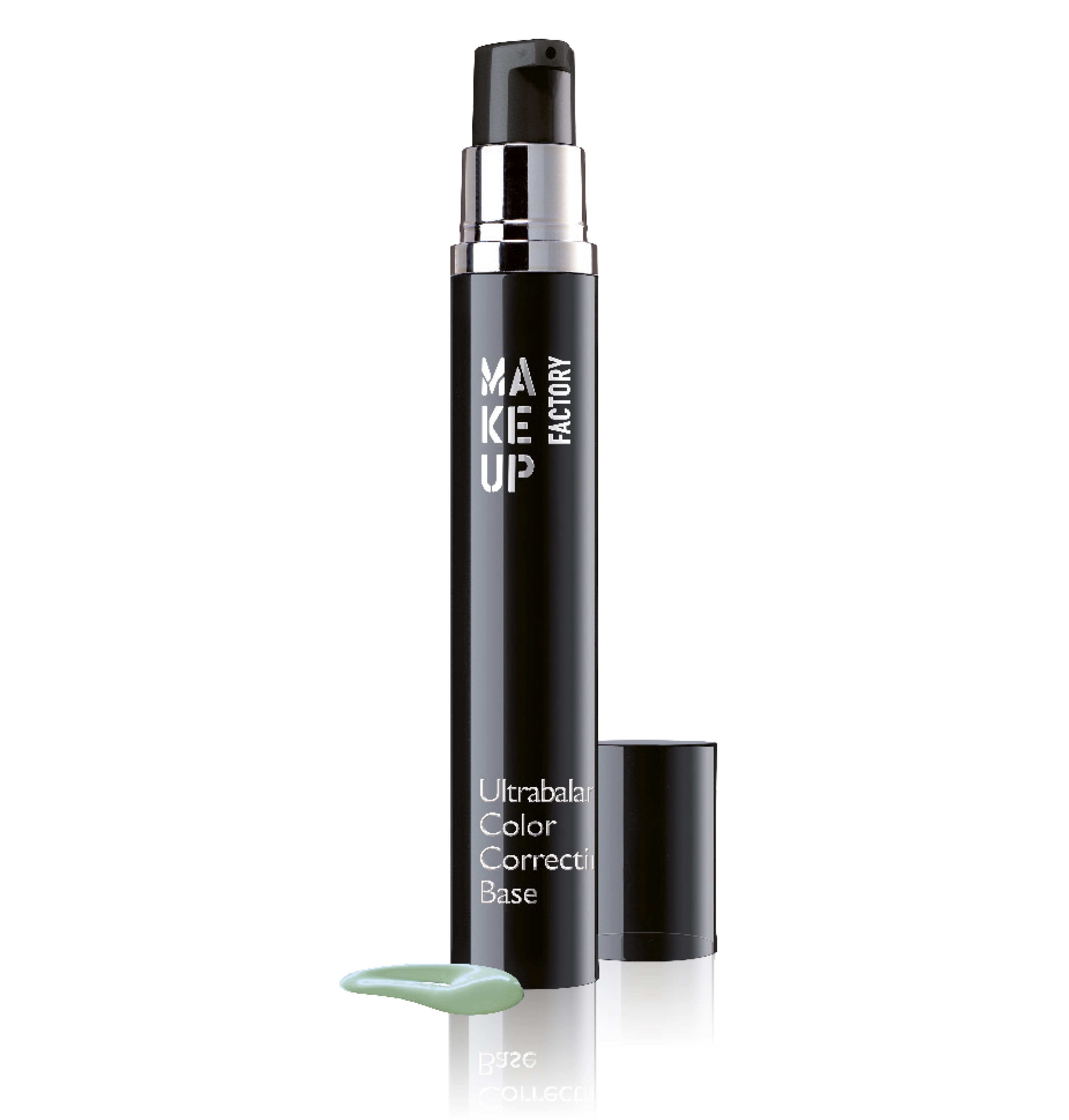 MAKE UP FACTORY База под макияж корректирующая цвет лица, 12 зеленый / Ultrabalance Color Correcting Base 15 мл