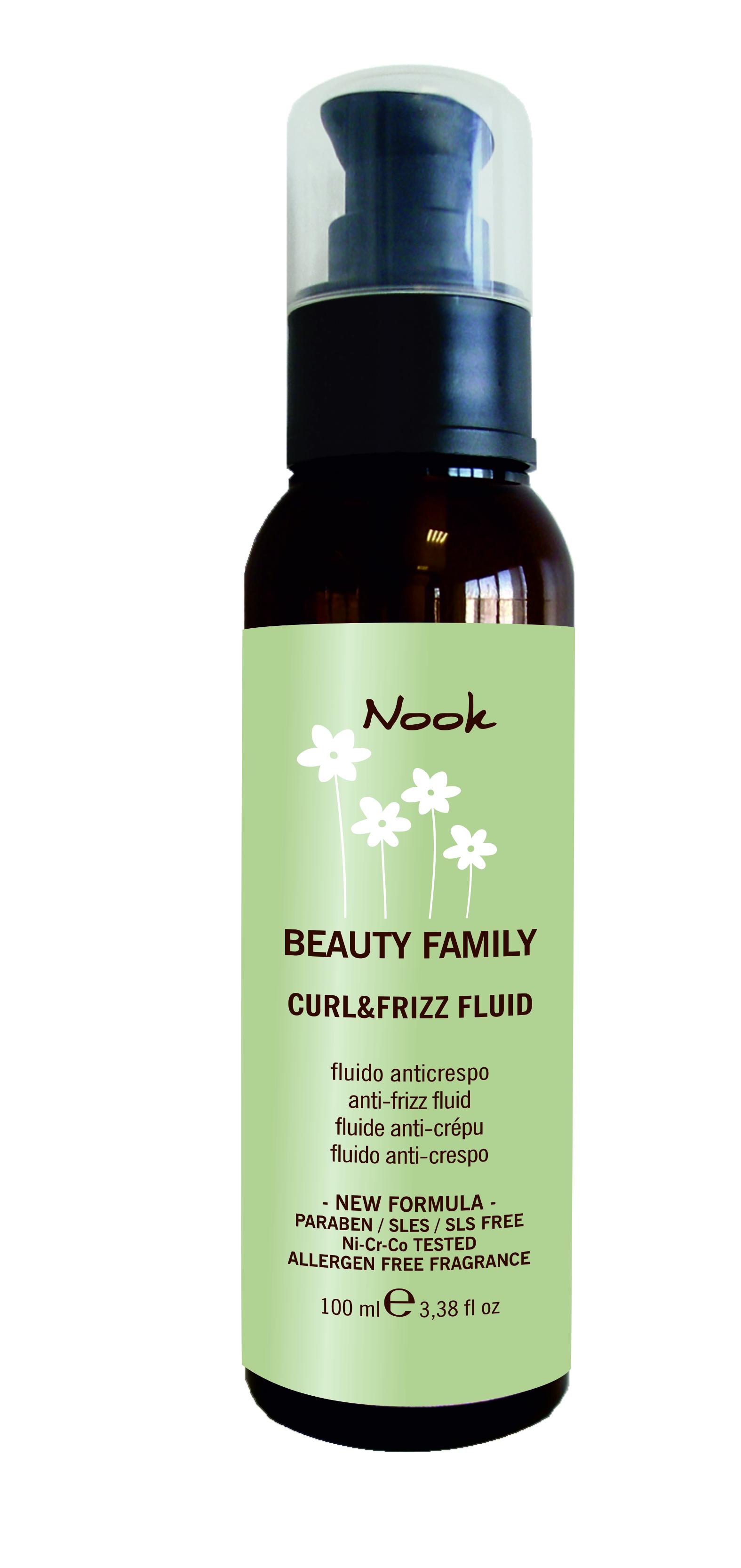 NOOK Флюид для кудрявых волос Ph 5,5 / Curl & Friz Fluid BEAUTY FAMILY 50мл от Галерея Косметики