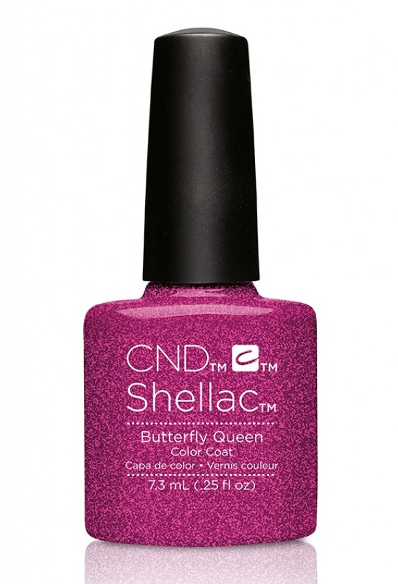 CND 90798 покрытие гелевое / Butterfly Queen SHELLAC 7,3 мл