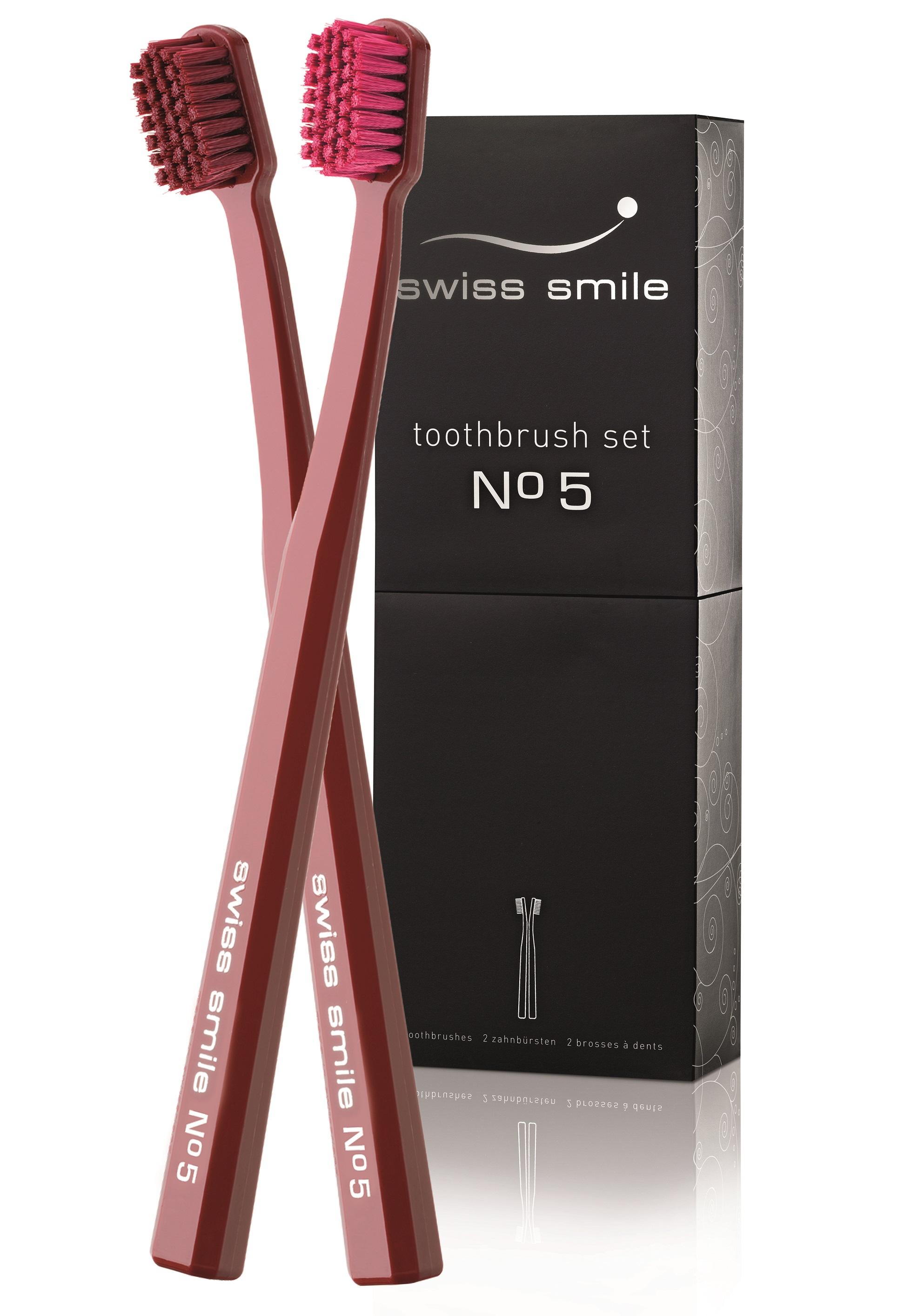 Купить SWISS SMILE Набор мягких зубных щёток №5 2 шт