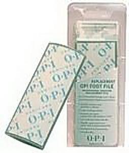 OPI Абразив запасной к педикюрной пилке 80/120 / Pedicure File SPAТерки для ног<br>Запасной абразив к двухсторонней пилке &amp;laquo;Foot File&amp;raquo;. Можно использовать в работе как по сухой, так и по влажной поверхности со скрабом. Прочная поверхность из полипропилена должна подвергаться дезинфекции. Рассчитан на 150-200 применений.<br>