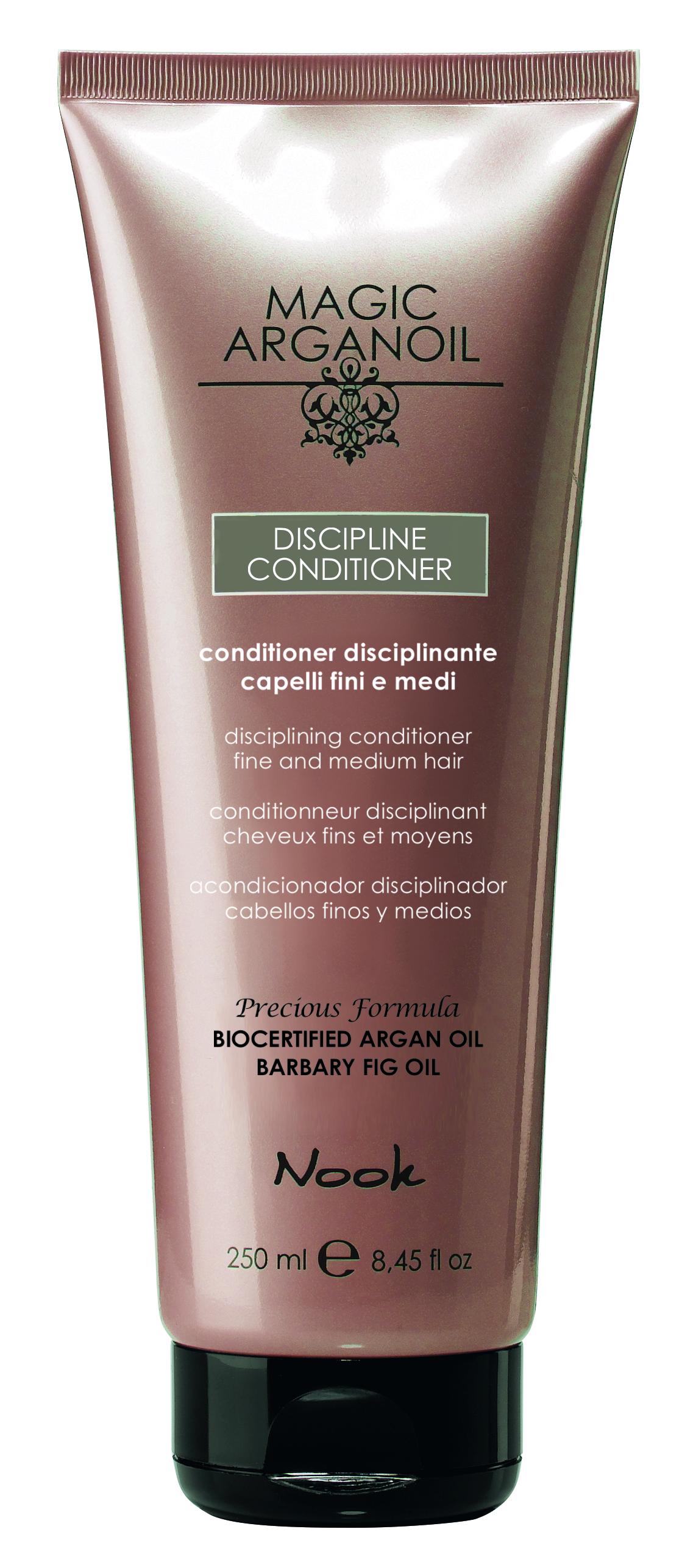 Купить NOOK Кондиционер для ухода за тонкими и непослушными волосами / Disciplining Conditioner hair anti-frizz MAGIC ARGANOIL 250 мл