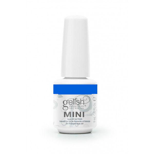 GELISH Гель-лак Ooba Ooba Blue - Blue / GELISH MINI 9млГель-лаки<br>Гель-лак Gelish Mini наносится на ноготь как лак, с помощью кисточки под колпачком. Процедура нанесения схожа с нанесением обычного цветного покрытия. Все гель-лаки Harmony Gelish Mini выполняют функцию еще и укрепляющего геля, делая ногти более прочными и длинными. Ногти клиента находятся под защитой гель-лака, они не ломаются и не расслаиваются. Гель-лаки Gelish Mini после сушки в LED или УФ лампах держатся на натуральных ногтях рук до 3 недель, а на ногтях ног до 5 недель. Способ применения: Подготовительный этап. Для начала нужно сделать маникюр. В зависимости от ваших предпочтений это может быть европейский, классический обрезной, СПА или аппаратный маникюр. Главное, сдвинуть кутикулу с ногтевого ложа и удалить ороговевшие участки кожи вокруг ногтей. Особенностью этой системы является то, что перед нанесением базового слоя необходимо обработать ноготь шлифовочным бафом Harmony Buffer 100/180 грит, для того, чтобы снять глянец. Это поможет улучшить сцепку покрытия с ногтем. Пыль, которая осталась после опила, излишки жира и влаги удаляются с помощью обезжиривателя Gelish MINI Ph Bond или любого другого дегитратора. Нанесение искусственного покрытия Harmony.&amp;nbsp; После того, как подготовительные процедуры завершены, можно приступать непосредственно к нанесению искусственного покрытия Harmony Gelish. Как и все гелевые лаки, продукцию этого бренда необходимо полимеризовать в лампе. Гель-лаки Gelish Mini сохнут (полимеризуются) под LED или УФ лампой. Время полимеризации: В LED лампе 18G/6G = 30 секунд В LED лампе Gelish Mini Pro = 45 секунд В УФ лампах 36 Вт = 120 секунд В УФ лампе Harmony Mini Portable UV Light = 180 секунд ПРИМЕЧАНИЕ: подвергать полимеризации необходимо каждый слой гель-лакового покрытия! 1)Первым наносится тонкий слой базового покрытия Gelish MINI Foundation Soak Off Base Gel 9 мл. 2)Следующий шаг   нанесение цветного гель-лака Harmony Gelish Mini.&amp;nbsp; 3)Заключительный