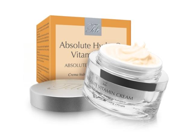 TEGOR Крем с витаминами / Vitamin Cream АВSOLUTE HYDRA O2 VITAMIN 50млКремы<br>Данное средство предназначено для кожи с недостатком питания и влаги и чувствительной кожи. Одним из основных компонентов крема &amp;laquo;Absolute Vitamin Cream&amp;raquo; от Тегор является главный опорный белок кожи коллаген, который гарантирует коже идеальное увлажнение и натяжение, тем самым, способствуя сокращению числа морщин и общему выравниванию рельефа кожи. Благодаря крему  Absolute Vitamin Cream  от Tegor ваша кожа наполнится энергией, обретет безупречный цвет и сияние красоты.   Активный состав: Гидролизированные белки бобов сои, гидролизированный коллаген, фосфолипиды, гиалуроновая кислота, витамины А, В и F, экстракты клубники, центеллы азиатской, киви и малины. Способ применения: Нанесите необходимое количество крема  Absolute Vitamin Cream  от Тегор на чистую кожу. Массируйте до полного впитывания.<br><br>Объем: 50<br>Назначение: Морщины