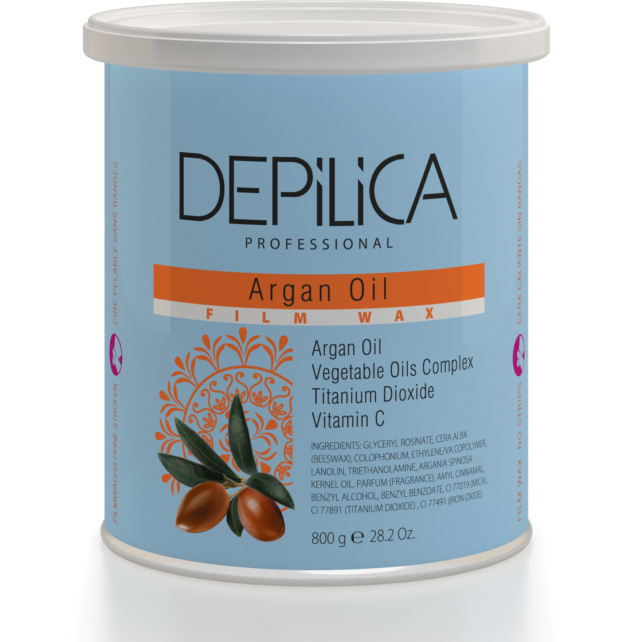DEPILICA PROFESSIONAL ���� ��������� � ������ ������ / Argan Oil Film Wax 800��