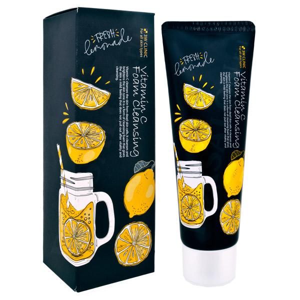 Купить 3W CLINIC Пенка для умывания с витамином С / Foam Cleansing 100 мл
