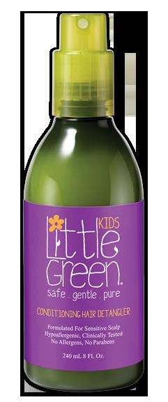Купить LITTLE GREEN Кондиционер несмываемый для облегчения расчесывания / KIDS 240 мл