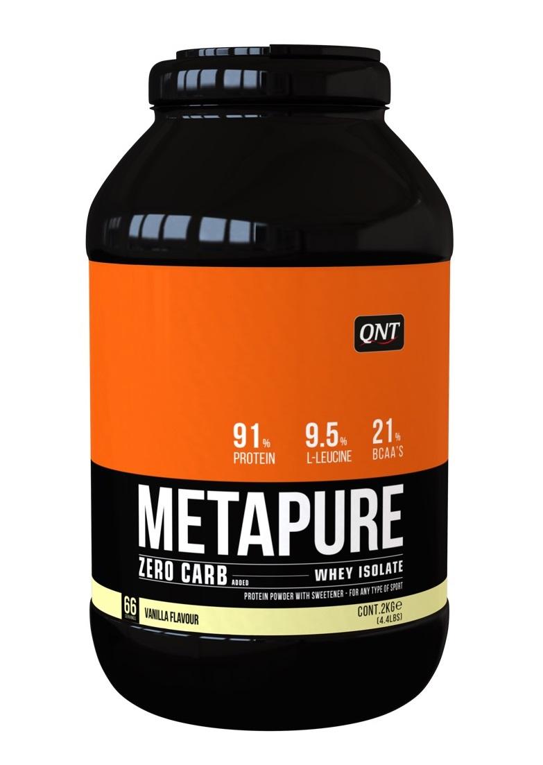 Купить QNT Добавка биологически активная к пище Метапьюр зеро карб, ваниль / ZERO CARB METAPURE Vanilla 2 кг