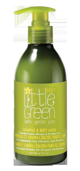 Купить LITTLE GREEN Шампунь и гель для тела, без слез / BABY 240 мл
