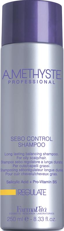 FARMAVITA Шампунь для жирной кожи головы / Amethyste regulate sebo controll shampoo 250мл