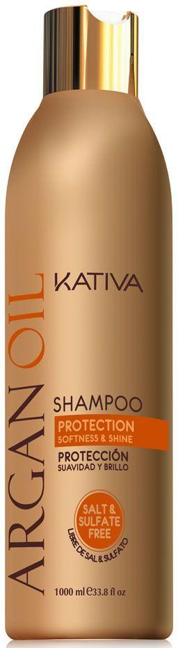 Купить KATIVA Шампунь увлажняющий с маслом арганы для волос / ARGANA 250 мл
