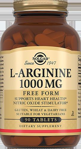 SOLGAR L-Аргинин, таблетки 1000 мг № 90