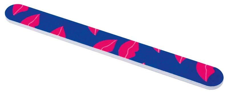 DEWAL BEAUTY Пилка для ногтей, с рисунком губы 18 см