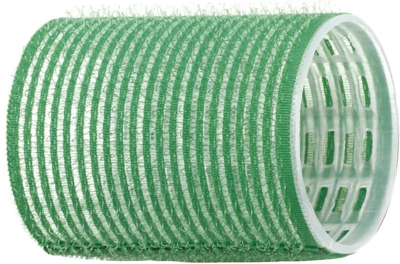 DEWAL PROFESSIONAL Бигуди-липучки зеленые d 48 мм 12 шт/уп