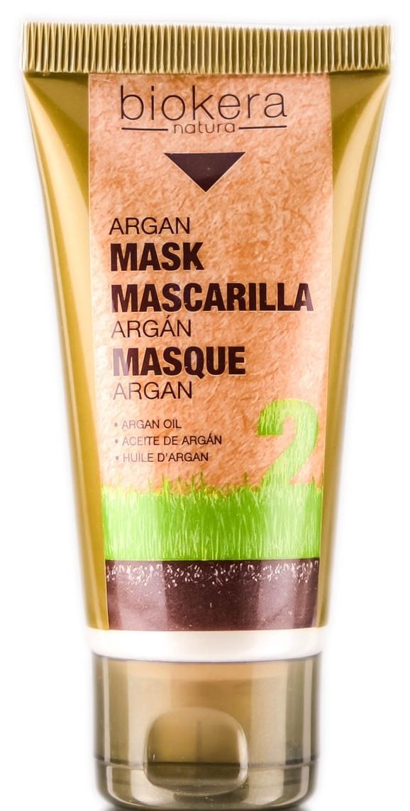 Купить SALERM COSMETICS Маска с аргановым маслом для волос / BIOKERA Argan 50 мл