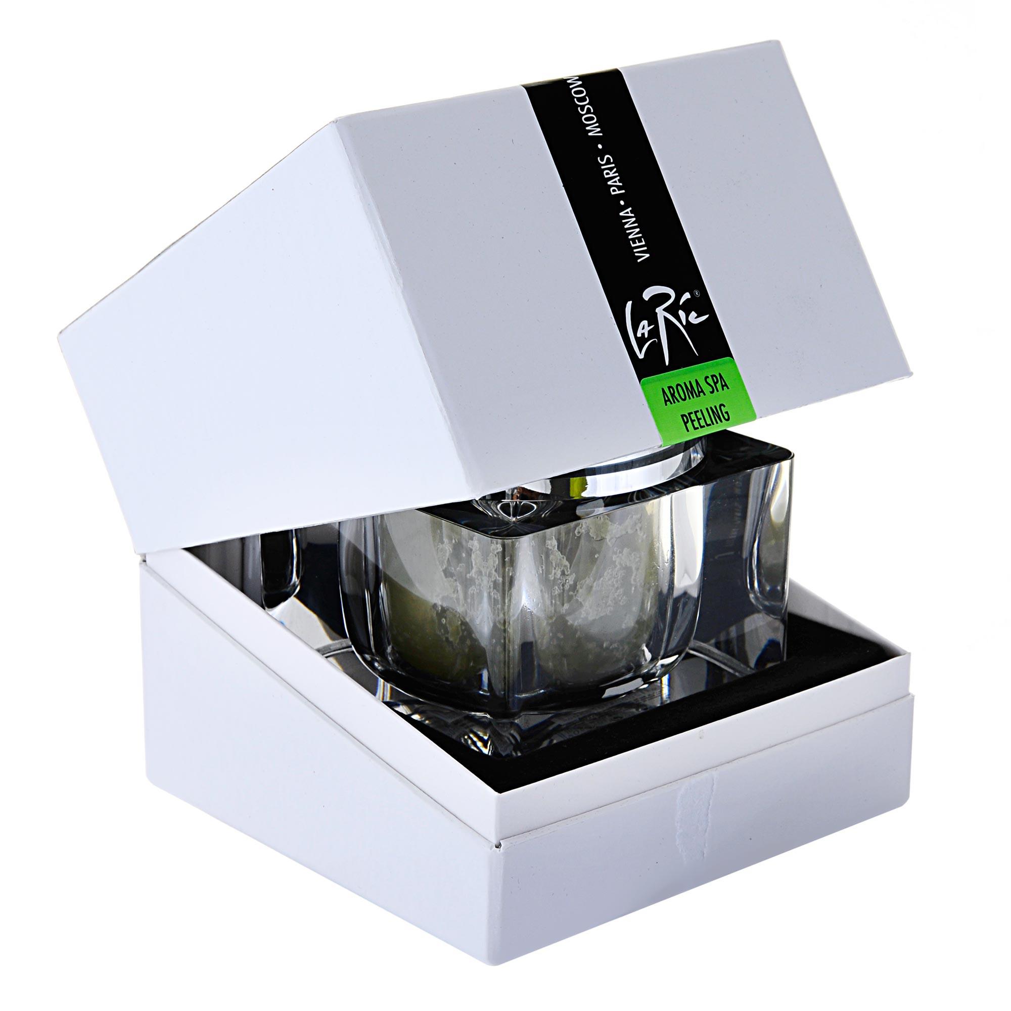 LA RIC Пилинг для рук, ног и всего тела Зеленый чай / AROMA SPA-LUXUS 250гр
