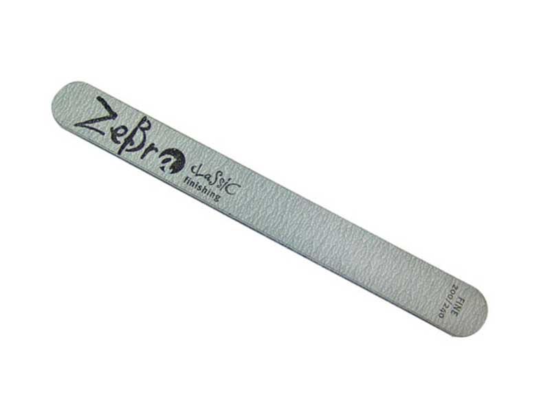 SIBEL Пилка стандарт зебра 200/240 (0001616), Sibel kinetics пилка профессиональная шлифовщик 240 240 funny pengium