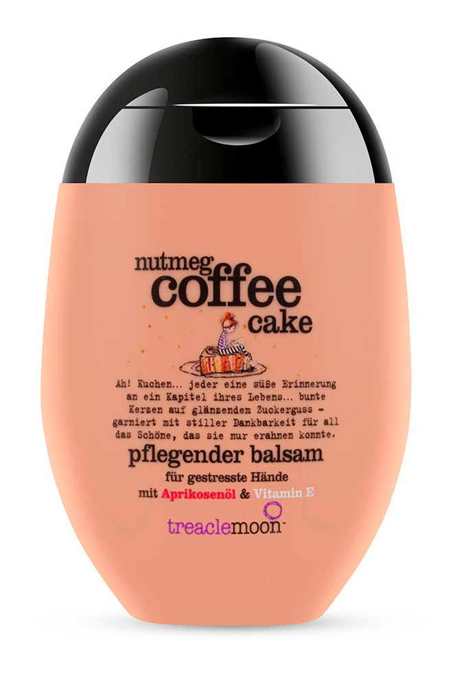 Купить TREACLEMOON Крем для рук Кофейный капкейк / Nutmeg coffee cake 75 мл