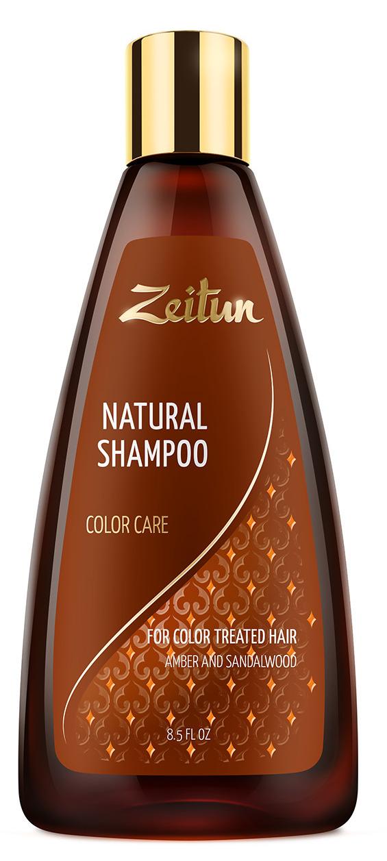 ZEITUN Шампунь для всех типов волос Уход за окрашенными волосами 250 мл  - Купить