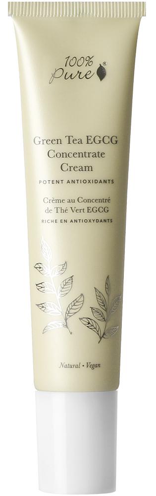 100% PURE Крем органический защитный для лица Антиоксиданты зеленого чая 40 мл