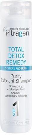 REVLON Шампунь / DETOX INTRAGEN 250 млШампуни<br>ШАМПУНЬ-ПИЛИНГ очищает волосы. Его отшелушивающий эффект удаляет частицы загрязнения, содержит хелатирующие агенты, которые улавливают металлы/минералы, содержащиеся в жесткой воде, и препятствуют их скоплению в волосах.<br>